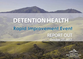 Contra Costa Detention Health Intake Rapid Improvement Event